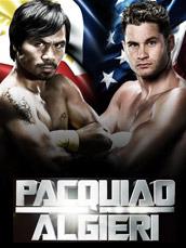 WBO Boxing: Pacquiao vs. Algieri