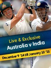 Live Australia v India Test Series