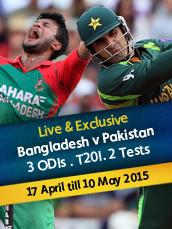Live Bangladesh v Pakistan Test Series