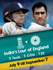 Live England v India Test Series