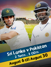 Live - Pakistan Tour Of Sri Lanka 2014