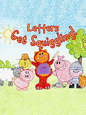 Get Squiggling Letters