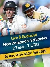 Live New Zealand v Sri Lanka Test Series