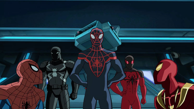 Marvel Ultimate Spider-Man vs The Sinister 6