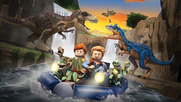 Lego: Jurassic World - The Legend Of Isla Nublar