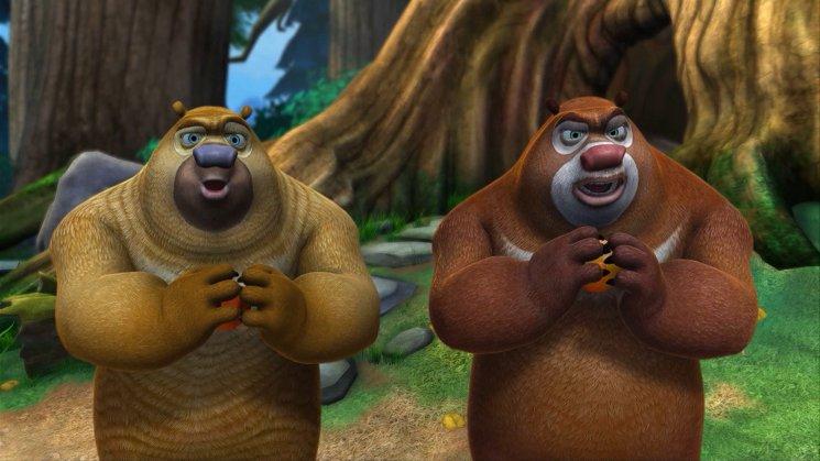 Boonie Bears & The Hunters